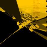 C1TY geel Royalty-vrije Stock Afbeelding