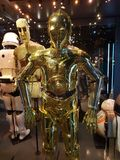 C3PO from Star Wars Stock Images