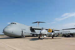 C5-M Super Galaxy and A-10 Stock Image