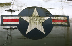 C54 Skytrain. Insignes USAAF Stock Fotografie