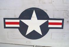 C54 Skytrain. Insignias de USAAF Imágenes de archivo libres de regalías