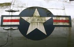 C54 Skytrain. USAAF Abzeichen Stockfotografie