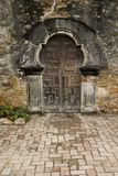 C84 Mission Espada. San Antonio Mission doors Royalty Free Stock Image