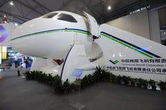 Китайская головка воздушных судн C919 Стоковое Фото