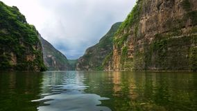 Cañon Del Sumidero, Chiapas, Meksyk obrazy royalty free