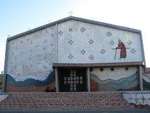Cañas kyrka Costa Rica arkivfoto