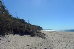 Caños de Meca卡迪士西班牙海滩  免版税库存照片