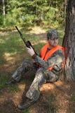 Caça do caçador Fotos de Stock Royalty Free