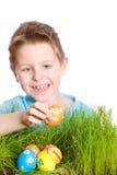 Caça do ovo de Easter fotografia de stock