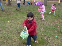 Caça do ovo de Easter Foto de Stock