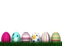 Caça do ovo de Easter Foto de Stock Royalty Free