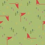 Caça do teste padrão para libélulas ilustração royalty free