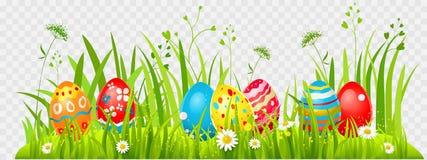 Caça dos ovos da páscoa ilustração royalty free