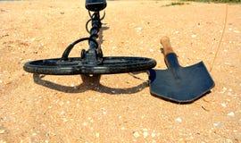 Caçador de tesouro Imagem de Stock