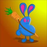 Caçador do coelho Fotografia de Stock Royalty Free
