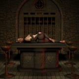 Caçador do vampiro - figura de Halloween Fotografia de Stock