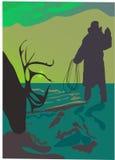 Caçador dos cervos Imagem de Stock