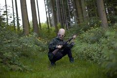Caçador estrangeiro Fotografia de Stock