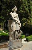 Caçadora Diana em um jardim de Granada, Espanha foto de stock