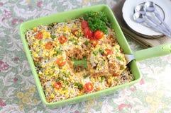 Caçarola 03 do arroz Imagens de Stock
