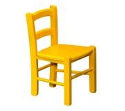 Caçoa a cadeira de madeira foto de stock royalty free