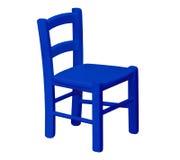 Caçoa a cadeira de madeira fotografia de stock