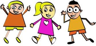 Caçoa desenhos animados Imagens de Stock Royalty Free