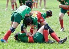 Caçoa o fósforo do rugby. Fotografia de Stock Royalty Free