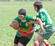 Caçoa o fósforo do rugby. Imagens de Stock Royalty Free