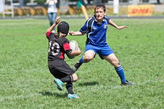 Caçoa o fósforo do rugby. Imagens de Stock