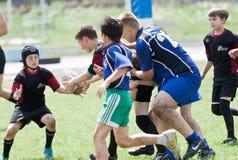 Caçoa o fósforo do rugby. Fotos de Stock Royalty Free