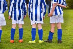 Caçoa o futebol Imagem de Stock Royalty Free