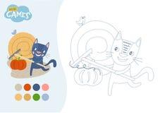 Caçoa o jogo educacional ilustração royalty free