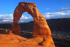 Caída 2006 de Moab fotografía de archivo libre de regalías