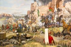 Caída de Constantinopla Imagen de archivo libre de regalías