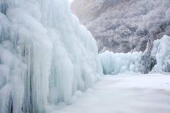 Caída de hielo foto de archivo