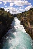 Caída de Huka, Nueva Zelandia Fotos de archivo