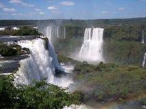 Caída de Iguazu Fotos de archivo libres de regalías