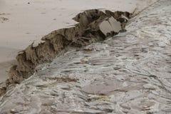 Caída de la arena Foto de archivo libre de regalías