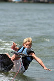 Caída de Wakeboard Foto de archivo