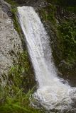 Caída del agua Foto de archivo libre de regalías