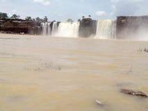 Caída del agua de Chitrakot Imagen de archivo