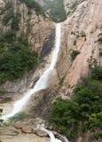 Caída del agua de Kuryong Imagenes de archivo