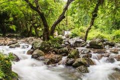 Caída del agua de Sariga Fotos de archivo libres de regalías