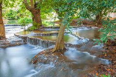 Caída del agua en Tailandia Foto de archivo