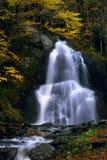 Caída del agua en Vermont Foto de archivo libre de regalías