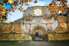 Caída del monasterio Imagenes de archivo