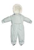 Caída del snowsuit de los niños Foto de archivo libre de regalías