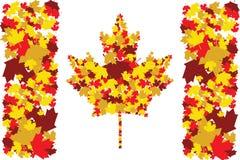 Caída en Canadá stock de ilustración