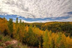 Caída en Colorado Fotografía de archivo libre de regalías